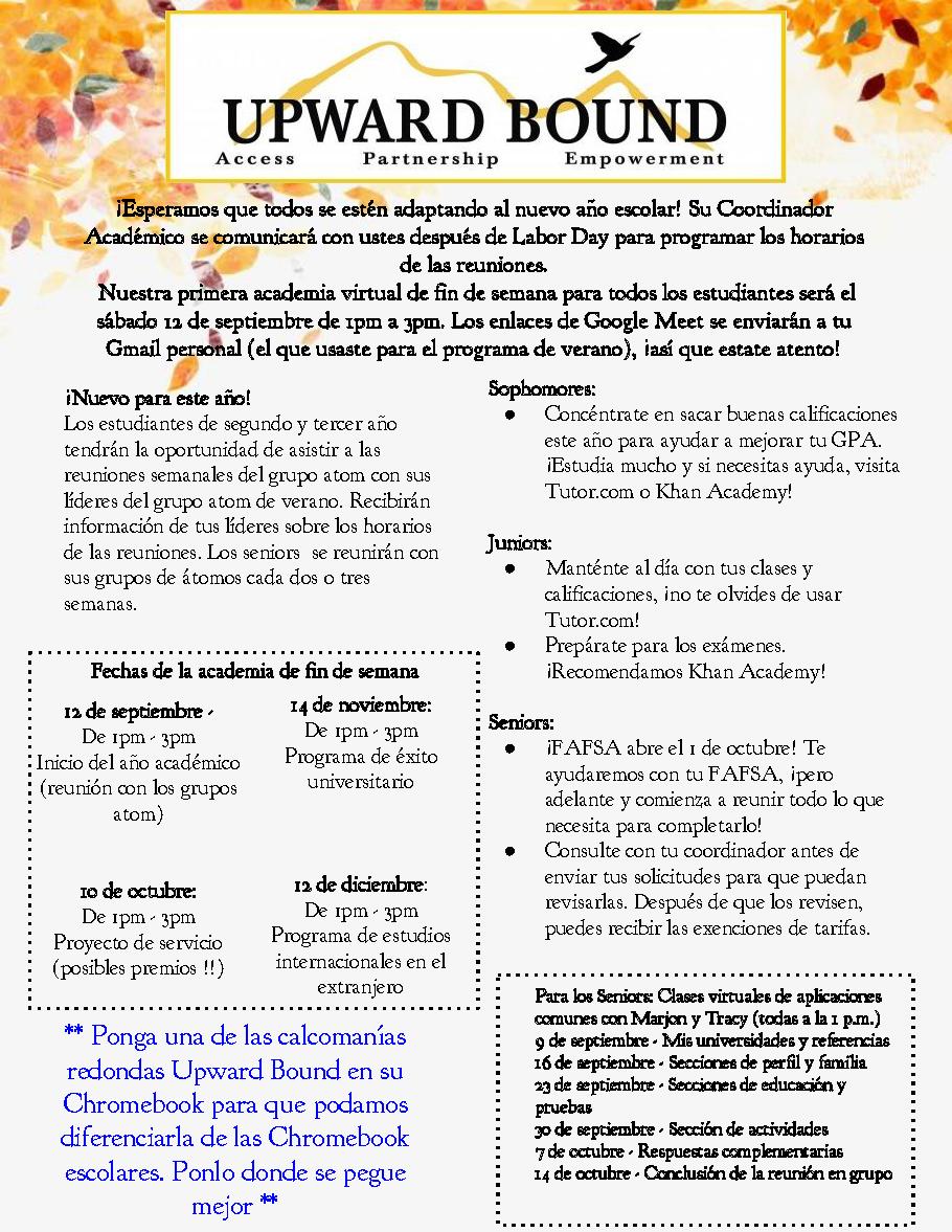 sept newsletter spanish